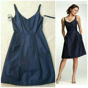 Ann Taylor pale purple silk organza dress 2